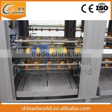 Automatic stainless steel fruit plastic crate washing machine