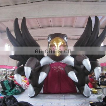 popular inflatable football tunnel,inflatable football helmet tunnel of eagle