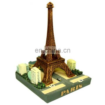 resin eiffel tower statue for home decoration