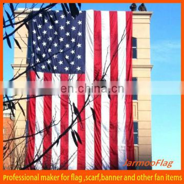 custom giant flag outdoor hanging America big flag