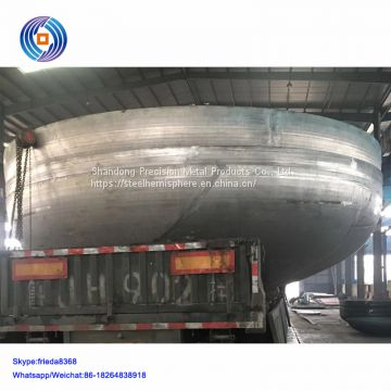 Carbon steel ellipsoidal head for oil tank