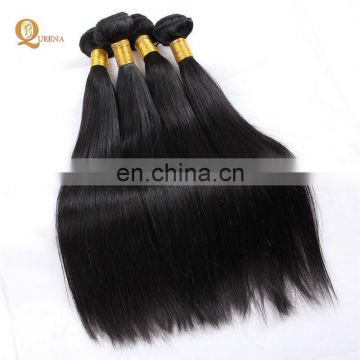 Xuchang Fuxin Hair Factory Price 7A Remy Cheap Peruvian Straight Human Hair Weft