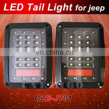 2016 new product for jeep jk with DOT SAE Emark made in Guangdong jeep wrangler Reverse light