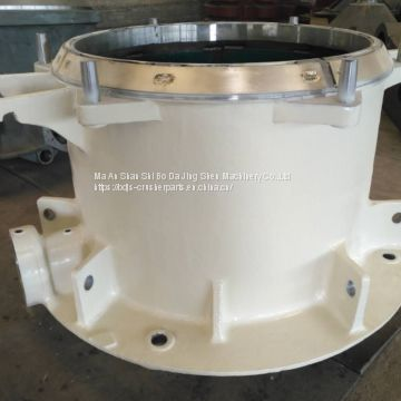 Metso crusher spare parts cone crusher hp400 main frame assembly China OEM factory