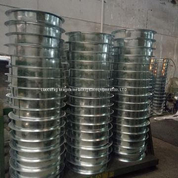 Steel coil edge protection line