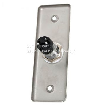 stainless steel material CE proved open door exit switch button, panic button, push switch