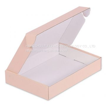 Matte Laminted CMYK Offset Printing E Flute Corrugated Paper Packaging Boxes China