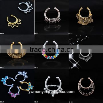 Designed fly bird nose ring wholesale nose hoop O 42