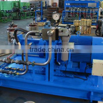 Vulcanizing machine hydraulic system