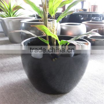 LXY072313 China manufacturer garden small decorative plant pot fiberglass flower pots