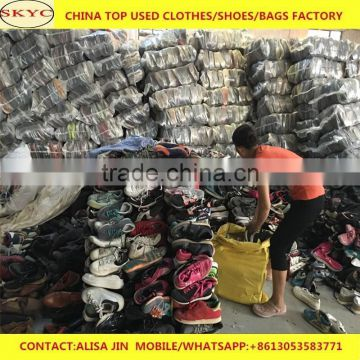 Dongguan warehouse used shoes cheap for sale Africa Gambia second