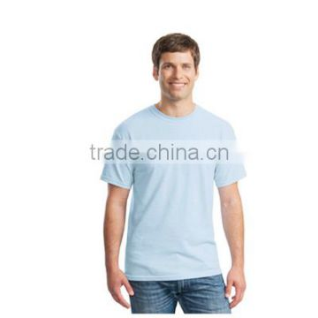 2016 New custom t shirt printing blank 100% cotton white short t-shirt