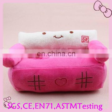 pink color sha fa design plush phone holder