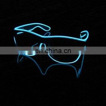 Party el equalizer glasses light up glowing shutter party el wire Glasses