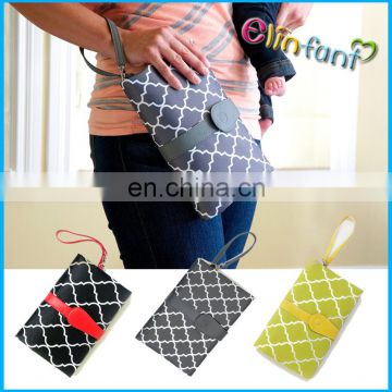 ElinfantBaby Diaper Changing Pad Baby Diaper Clutch Changing Bag