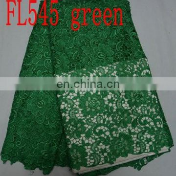 sales well guipure African lace fabrics for clothing(FL545)high quality/best price/prompt delivery/in stock