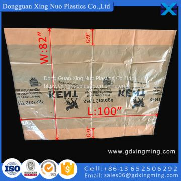 Customized Logo Printing XL King Mattress Bag for Moving and Storage