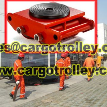 Roller skids with strong and durable quality
