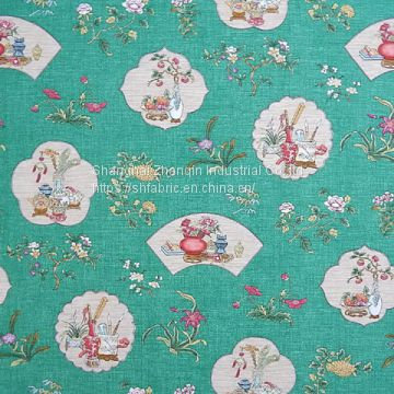polyester digital printing fabric Custom Small MOQ Digital Printed Fabric digital textile printer for sale