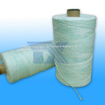 bio-soluble ceramic fiber yarn