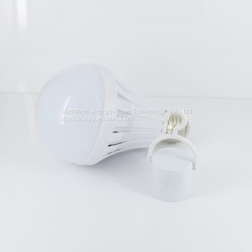 110V 220V LED Smart Bulb E27 5W 7W 9W 12W led emergency light rechargeable Battery lighting Lamp for home indoor lighting