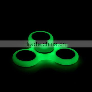 2 minutes turning time EDC Fidget Toys tri Fidget Spinner with hybrid ceramic bearing 608
