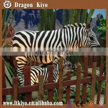 Playgroud Decorative Simulation Animal Model Zebra