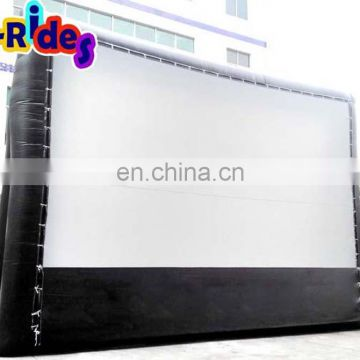 inflatable rear projection screen