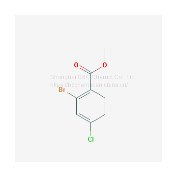 High purity of Methyl 2-bormo-4-chlorobenzoate (CAS 57381-62-1)with best price and best service