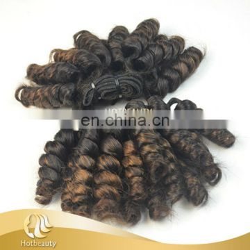 New Arrival Hot Selling Indian Aunty Funmi Hair Bouncy Curls