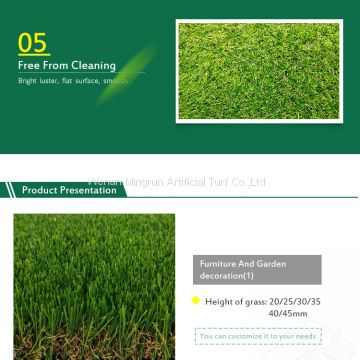 High Quality Outdoor Artificial Grass Sports Flooring 35mm Artificial Turf for Decoration