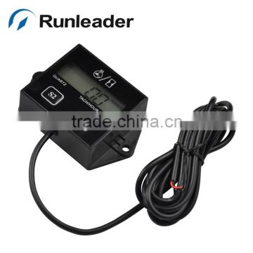 Digital Tachometer Hour Meter RPM meter for car Motorcycle Dirt Bike motocross pit atv snowmobile MX