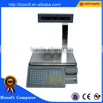 Bizsoft Dahua TM-Aa-5d 30kg electronic weigher printing