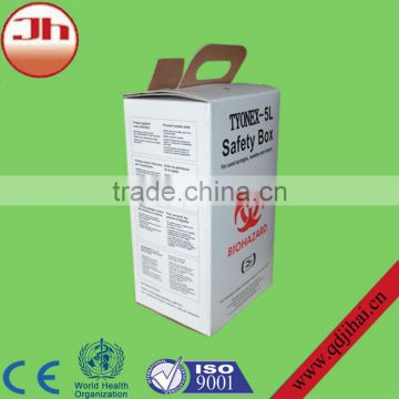 daily consumer products corrugated carton box,medical waste disposal box