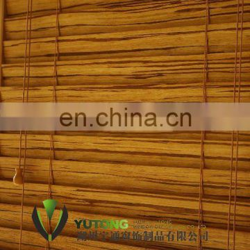 Bamboo blind curtain - Tiger