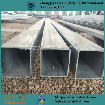 Building material square pipes and square tubes