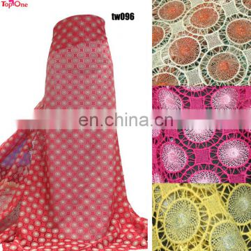 African chemical lace for wedding\Clothing material lace fabric\Party dress lace guipure lace