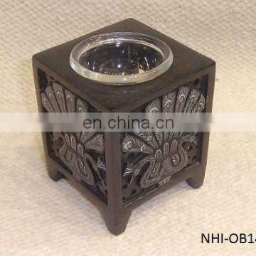 Colored Soapstone Fragrance Oil Burner