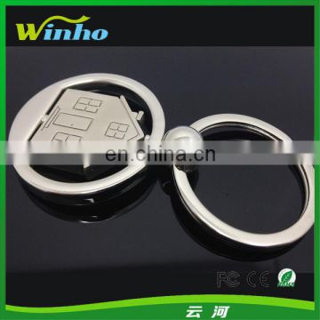 Promotion Metal Spinner House Key Ring