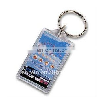 Personalized Plastic Keychain New Promotional Items