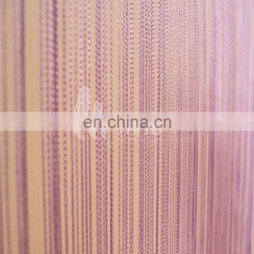 Single Color turkish living room string curtains