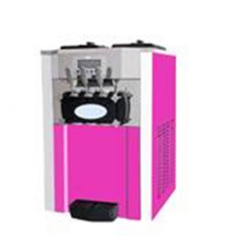 With Air Pump Pink Ice Cream Machine Large Water Box