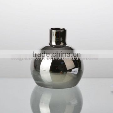 hand made top grade bright electroplate color glass vase style