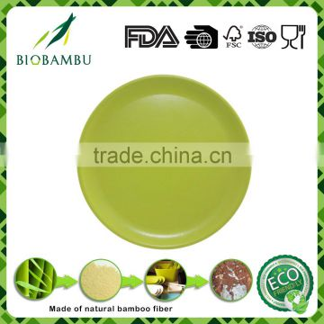 Reusable High quality Best design bamboo serving plates