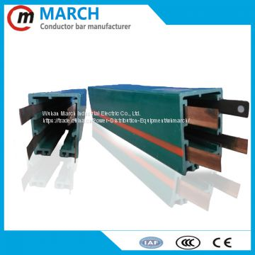 box busbar connect box for copper busbar enclosed conductor bar