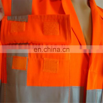 Fire Retardant Orange Disposable Safety Clothes Coverall