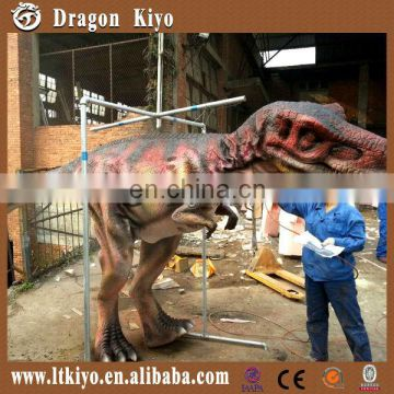 2016 Walking With Realistic T-Rex Dinosaur Costume with hidden legs