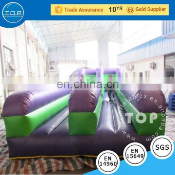 TOP quality games inflatable interactive bungee run jumper for adults