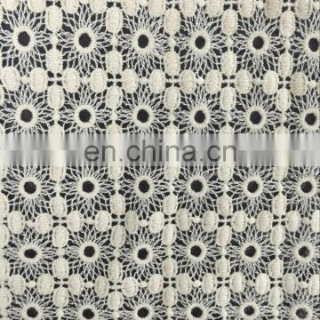 cotton embroidery lace for garment