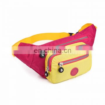 promotional blue and yellow canton manufacturer tactical waist bag with good quality